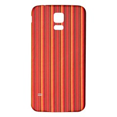 Retro Pattern Texture Fabric Art Material Graphic Textile Samsung Galaxy S5 Back Case (white)