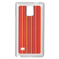 Retro Pattern Texture Fabric Art Material Graphic Textile Samsung Galaxy Note 4 Case (white)