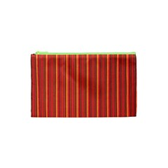 Retro Pattern Texture Fabric Art Material Graphic Textile Cosmetic Bag (xs)