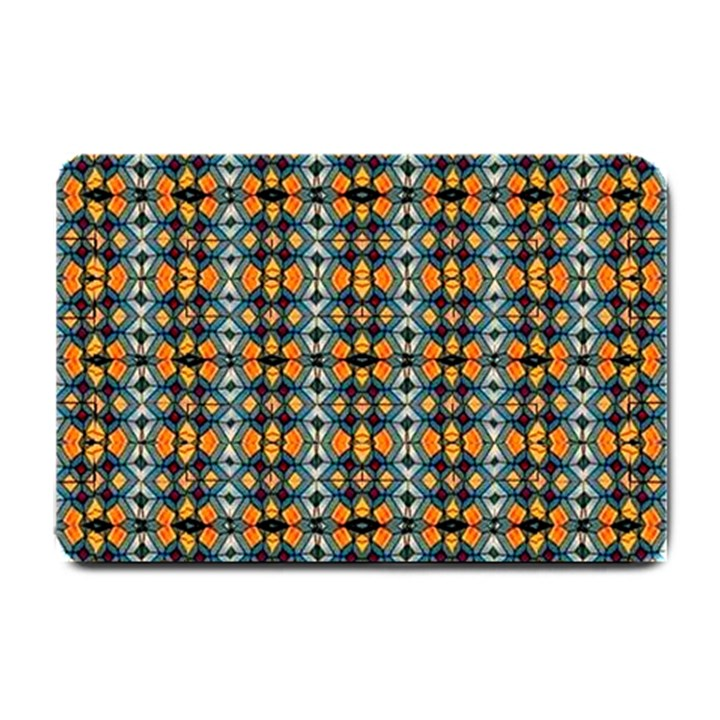 ARTWORK BY PATRICK-COLORFUL-2-1 Small Doormat