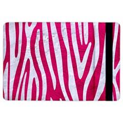 Skin4 White Marble & Pink Leather (r) Ipad Air 2 Flip by trendistuff