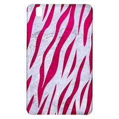 Skin3 White Marble & Pink Leather (r) Samsung Galaxy Tab Pro 8 4 Hardshell Case