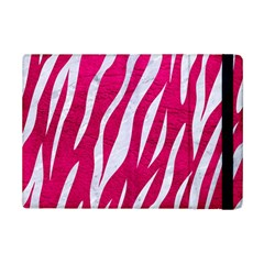 Skin3 White Marble & Pink Leather Ipad Mini 2 Flip Cases by trendistuff