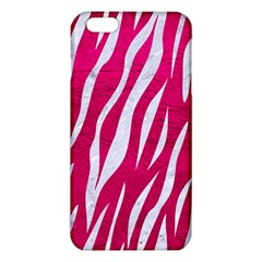Skin3 White Marble & Pink Leather Iphone 6 Plus/6s Plus Tpu Case by trendistuff