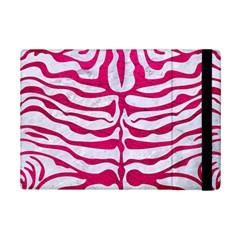 Skin2 White Marble & Pink Leather (r) Ipad Mini 2 Flip Cases