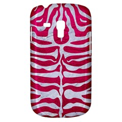 Skin2 White Marble & Pink Leather Galaxy S3 Mini