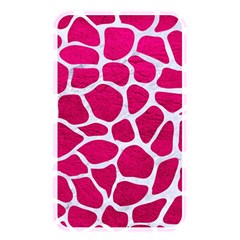 Skin1 White Marble & Pink Leather (r) Memory Card Reader