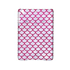 Scales1 White Marble & Pink Leather (r) Ipad Mini 2 Hardshell Cases