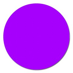 Light Purple Dots Pattern Magnet 5  (round)