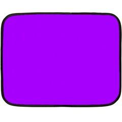 Light Purple Dots Pattern Double Sided Fleece Blanket (mini)