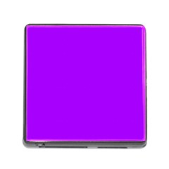 Light Purple Dots Pattern Memory Card Reader (square)