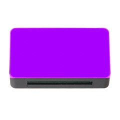 Light Purple Dots Pattern Memory Card Reader With Cf