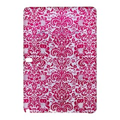 Damask2 White Marble & Pink Leather (r) Samsung Galaxy Tab Pro 10 1 Hardshell Case by trendistuff
