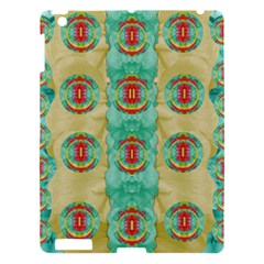 Peace Will Be In Fantasy Flowers With Love Apple Ipad 3/4 Hardshell Case by pepitasart