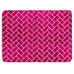 Brick2 White Marble & Pink Leather Samsung Galaxy Tab 7  P1000 Flip Case