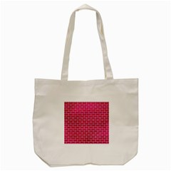 Brick1 White Marble & Pink Leather Tote Bag (cream) by trendistuff