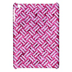 Woven2 White Marble & Pink Marble Apple Ipad Mini Hardshell Case by trendistuff