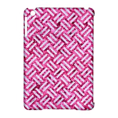Woven2 White Marble & Pink Marble Apple Ipad Mini Hardshell Case (compatible With Smart Cover) by trendistuff