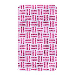 Woven1 White Marble & Pink Marble (r) Memory Card Reader