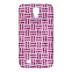 Woven1 White Marble & Pink Marble (r) Samsung Galaxy Mega 6 3  I9200 Hardshell Case by trendistuff
