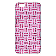 Woven1 White Marble & Pink Marble (r) Iphone 6 Plus/6s Plus Tpu Case