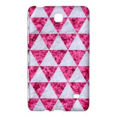 Triangle3 White Marble & Pink Marble Samsung Galaxy Tab 4 (8 ) Hardshell Case