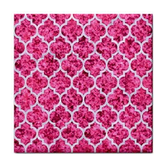 Tile1 White Marble & Pink Marble Face Towel