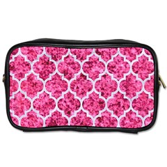 Tile1 White Marble & Pink Marble Toiletries Bags