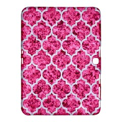 Tile1 White Marble & Pink Marble Samsung Galaxy Tab 4 (10 1 ) Hardshell Case
