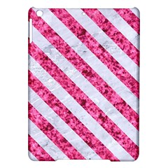 Stripes3 White Marble & Pink Marble Ipad Air Hardshell Cases