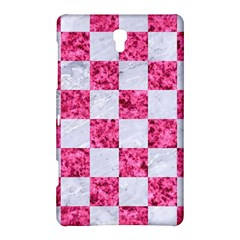 Square1 White Marble & Pink Marble Samsung Galaxy Tab S (8 4 ) Hardshell Case