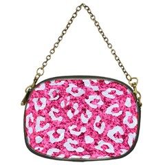 Skin5 White Marble & Pink Marble (r) Chain Purses (one Side)