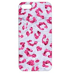 Skin5 White Marble & Pink Marble Apple Iphone 5 Hardshell Case With Stand