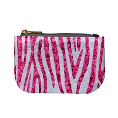 Skin4 White Marble & Pink Marble Mini Coin Purses