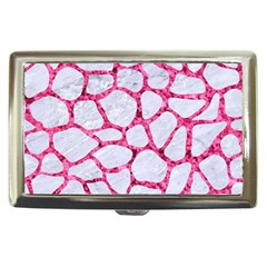 Skin1 White Marble & Pink Marble Cigarette Money Cases