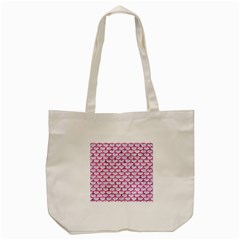Scales3 White Marble & Pink Marble (r) Tote Bag (cream) by trendistuff