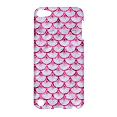 Scales3 White Marble & Pink Marble (r) Apple Ipod Touch 5 Hardshell Case
