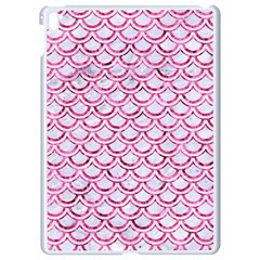 Scales2 White Marble & Pink Marble (r) Apple Ipad Pro 9 7   White Seamless Case