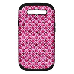 Scales2 White Marble & Pink Marble Samsung Galaxy S Iii Hardshell Case (pc+silicone) by trendistuff