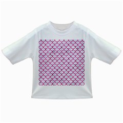 Scales1 White Marble & Pink Marble (r) Infant/toddler T Shirts