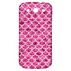 Scales1 White Marble & Pink Marble Samsung Galaxy S3 S Iii Classic Hardshell Back Case by trendistuff