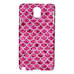 Scales1 White Marble & Pink Marble Samsung Galaxy Note 3 N9005 Hardshell Case