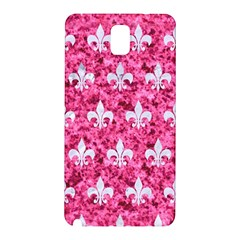 Royal1 White Marble & Pink Marble (r) Samsung Galaxy Note 3 N9005 Hardshell Back Case by trendistuff