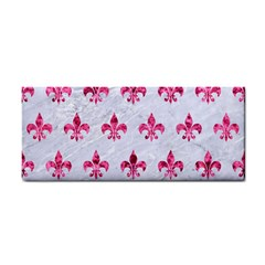 Royal1 White Marble & Pink Marble Hand Towel
