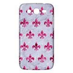 Royal1 White Marble & Pink Marble Samsung Galaxy Mega 5 8 I9152 Hardshell Case  by trendistuff
