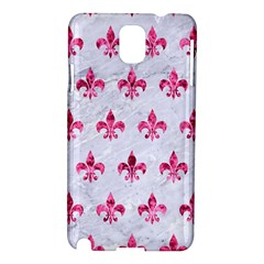 Royal1 White Marble & Pink Marble Samsung Galaxy Note 3 N9005 Hardshell Case by trendistuff