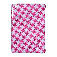 Houndstooth2 White Marble & Pink Marble Apple Ipad Mini Hardshell Case (compatible With Smart Cover) by trendistuff
