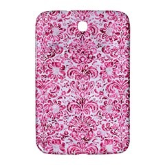 Damask2 White Marble & Pink Marble (r) Samsung Galaxy Note 8 0 N5100 Hardshell Case  by trendistuff