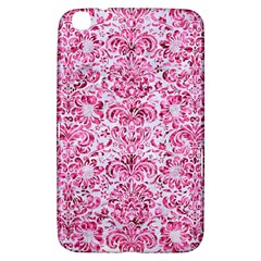 Damask2 White Marble & Pink Marble (r) Samsung Galaxy Tab 3 (8 ) T3100 Hardshell Case