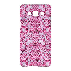 Damask2 White Marble & Pink Marble (r) Samsung Galaxy A5 Hardshell Case
